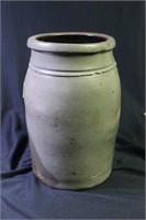 Hamilton & Jones Cobalt Decorated Stoneware Jar