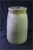 James Hamilton Cobalt Decorated Stoneware Jar