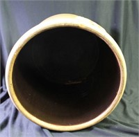 Eagle Pottery Co Cobalt Decorated Crock