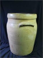 Cobalt Decorated 4 Gallon Crock Jar