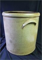 Cobalt Decorated 5 Gallon Crock