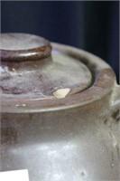Crock & 2 Bean Pots