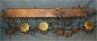 Curtis Jere  (1910 - 2008) Welded Wall Piece.