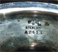 Sterling Tea Set.