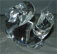 Steuben. Animal Figurines (4)