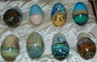 Paul Hamilton. Original Painted Collection. Eggs.