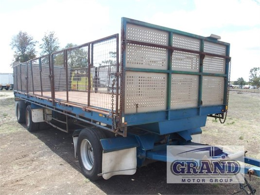 2000 Smiths & Sons Flat Top Trailer Grand Motor Group - Trailers for Sale