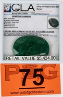 Jewelry Large Unmounted Beryl Gemstone 209 CTS