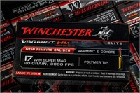 Ammo 800 Rounds of 17 Winchester Super Mag