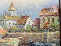 Marie Charlot (20th Century), Oil on Canvas