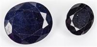 Jewelry Lot of 2 Sapphire Loose Gemstones