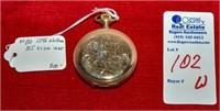 1896 Waltham 14 kt. Gold Pocket Watch