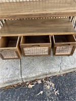 Beautiful Wooden Side table with drawers