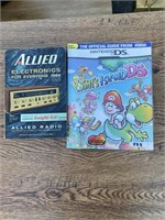 Allied electronics and Yoshis island DS Books