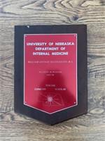 Department of medicine plaque