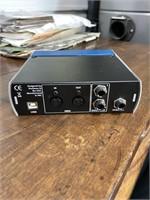 Presonus mic audiobox