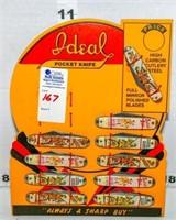 Novelty Ideal Pocket Knives, Vintage