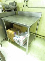 Stainless Table, Stand, & More