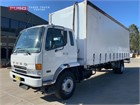 2005 Fuso Fighter FM10.0 Tautliner / Curtainsider