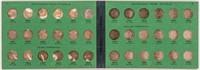 Coin Jefferson Nickel Set in Vintage Binder