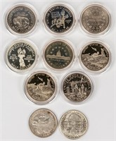 Coin 10 Commemorative Half Dollars / Silver