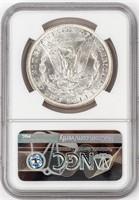 Coin 1886 Morgan Silver Dollar NGC MS64