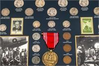 Coin World War II Coin Set in Custom Display