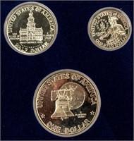 Coin Eisenhower Dollar 3 Piece Sets (3)