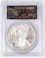 Coin 2014 American Silver Eagle PCGS MS70