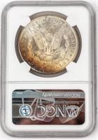 Coin 1884 Morgan Silver Dollar NGC MS63