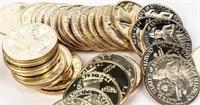 Coin (40) 1976 Proof Silver Bicentennial Quarters