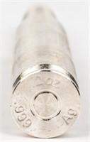 Coin .999 Fine Silver Bullet 2 Ounces