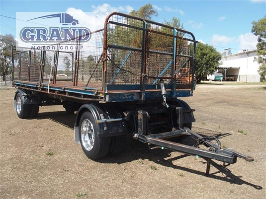 2004 Ace Semi Trailer Flat Top Trailer Grand Motor Group - Trailers for Sale