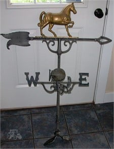ANTIQUE HORSE WEATHER VANE Other Items For Sale - 1 Listings ... on