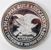 Coin 1 Troy Ounce of .999 Fine NRA Coin
