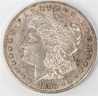 Coin 1883-S Morgan Silver Dollar Almost Unc.