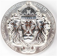 Coin 2 Troy Ounces of .999 Fine Silver Lion