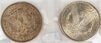 Coin 2 Morgan Silver Dollars1897-O & 1897-S