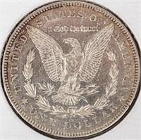 Coin 1878-CC  Morgan Silver Dollar Extra FIne