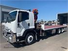 2013 Isuzu FVZ 1400 Long Crane Truck