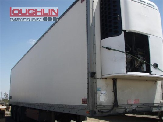 2004 Lucar Refrigerated Trailer Loughlin Bros Transport Equipment  - Trailers for Sale