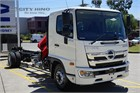 2019 Hino 500 Series Crane Truck