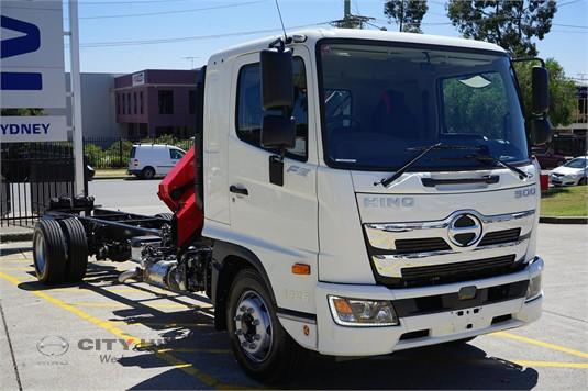 Hino 500 Series Crane Truck