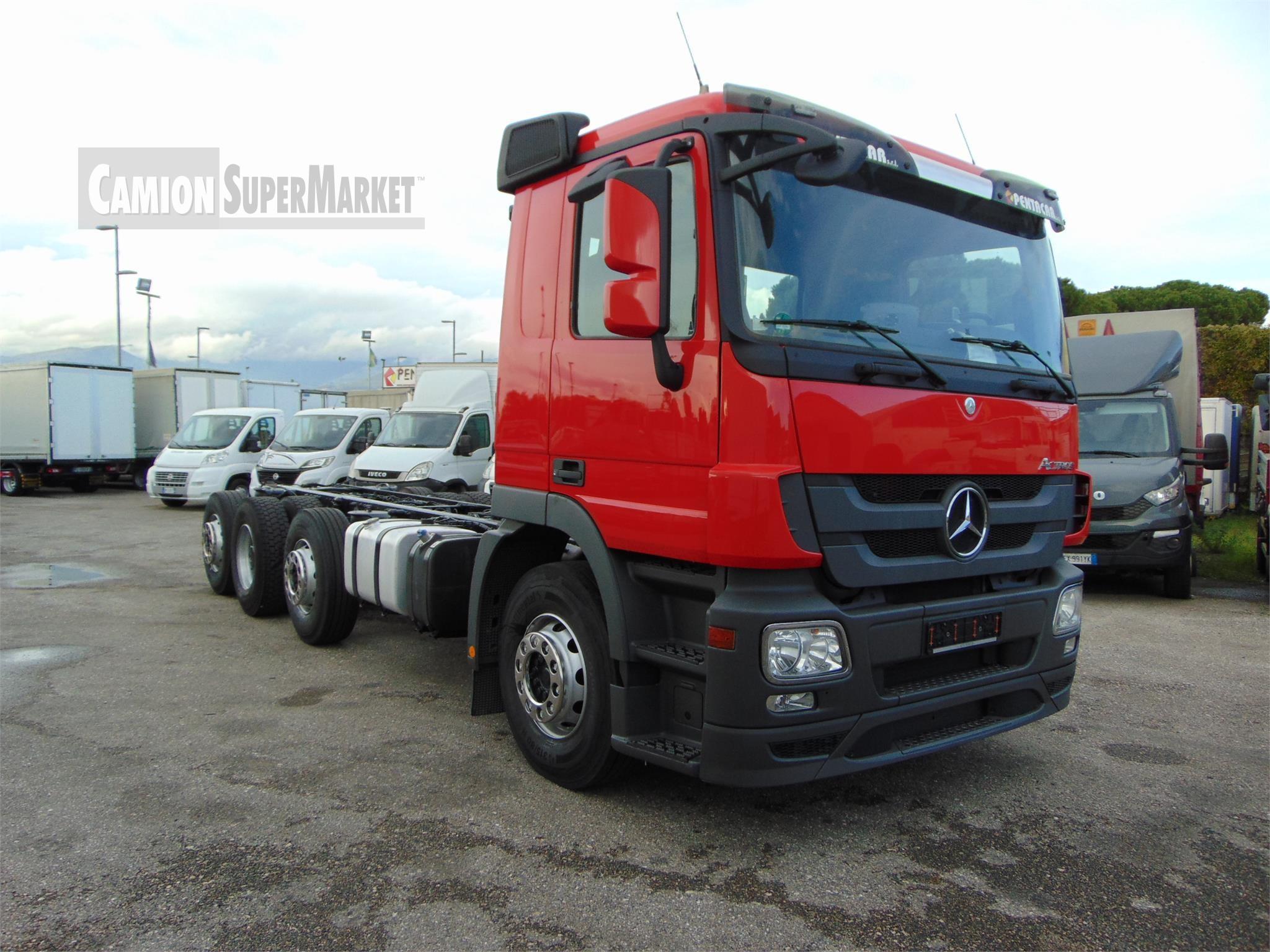 Mercedes-Benz ACTROS 3236 used 2012 Toscana
