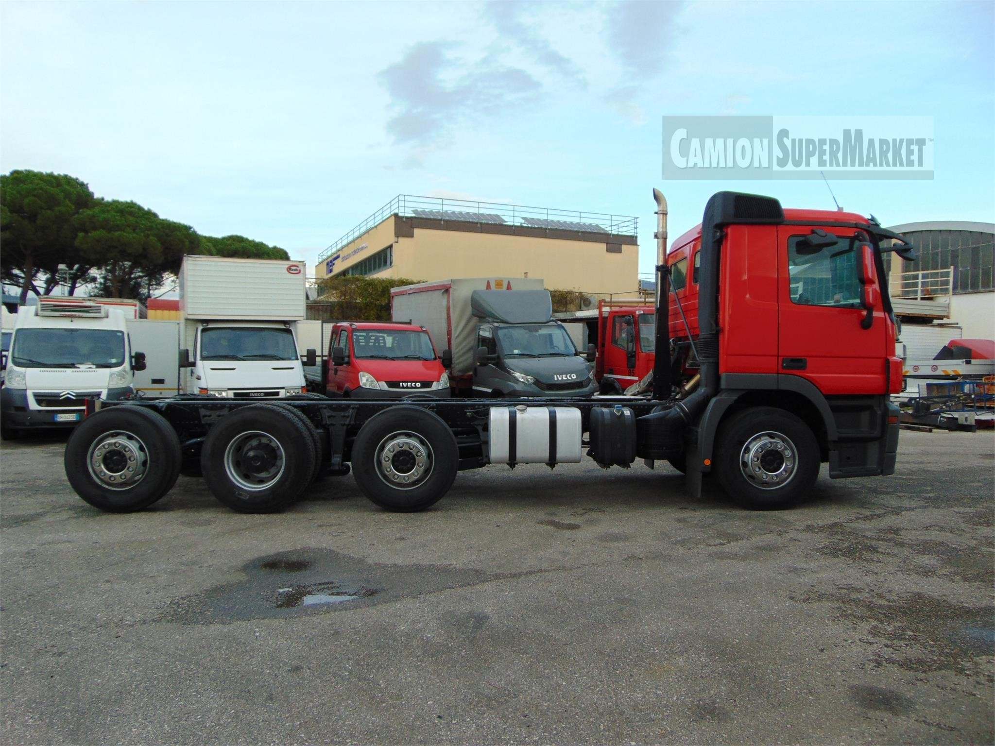 Mercedes-Benz ACTROS 3236 used 2012