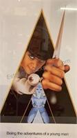 "Authentic ""Clockwork Orange"" Framed Movie Poster"