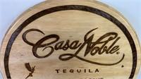 AUTOGRAPHED Santana, Casa Noble Tequila Wood Wall