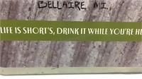 Shorts Brewing Company Metal Sign