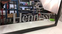 Hennessy Wall Mirror approx 18x30