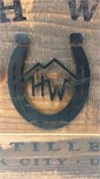 High West Distillery Wall Decor approx 17x24